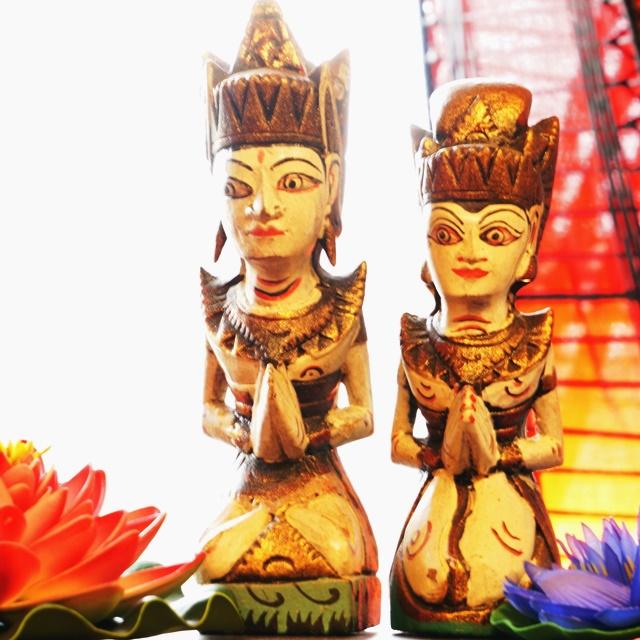 ひな祭り/アジアンなカップル ラーマ&シータ