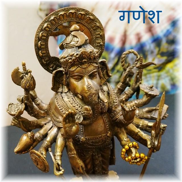 ガネーシャ像/ヒンドゥー教神像