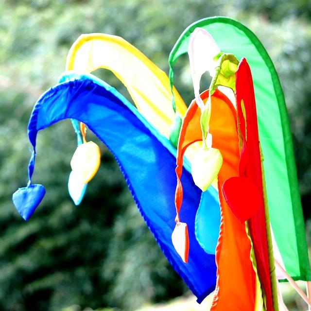 バリ島お祭り旗/ウンブルウンブル