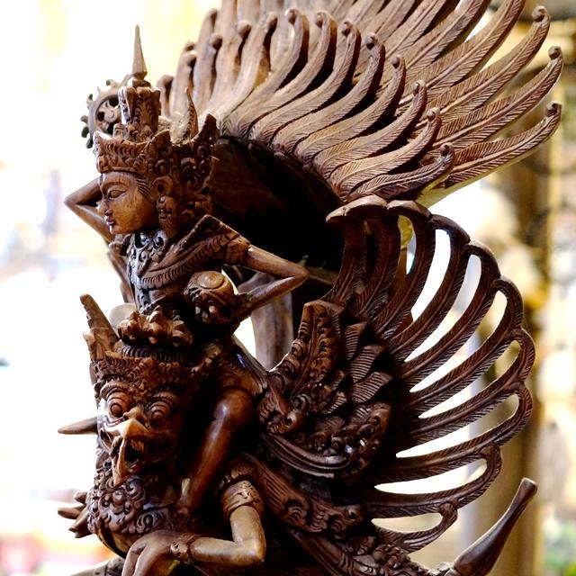 ガルーダ&ビシュヌ神>ガルーダ像