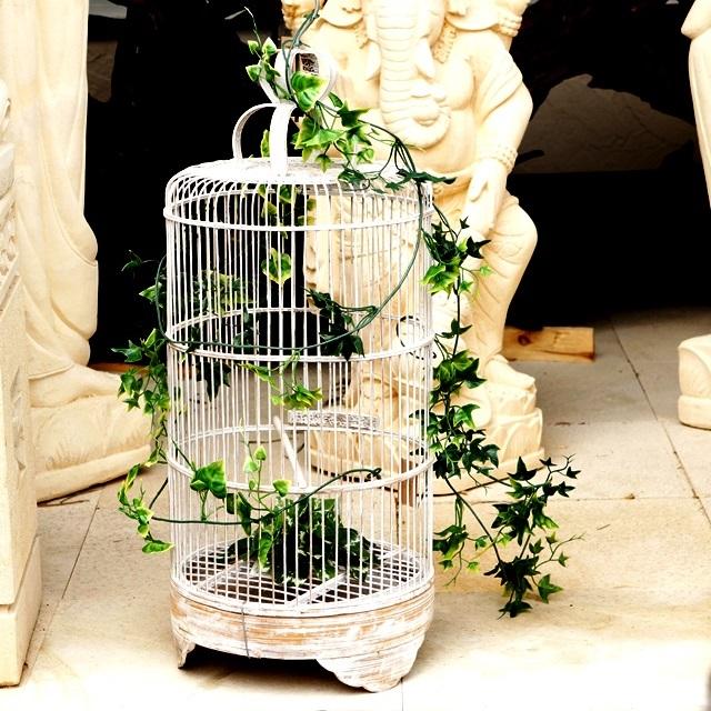 鳥かご/竹の鳥籠/バリ雑貨