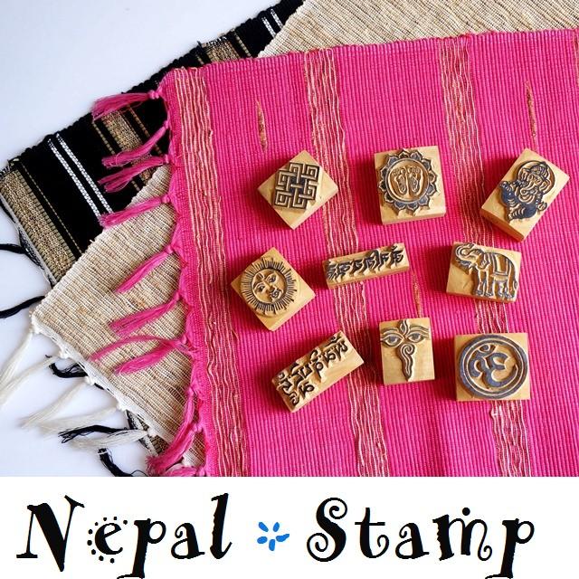 アジアンなスタンプ はんこ/ネパール雑貨