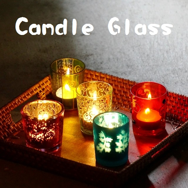 キャンドルグラス>アジアンライト・照明