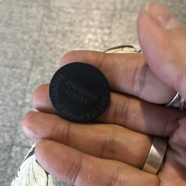 エアポートリンク コイン