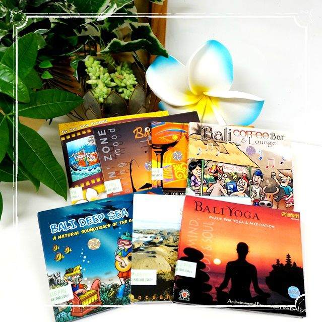ヒーリングCD/バリ島/スパ・エステ・マッサージ・カフェ・レストランBGM