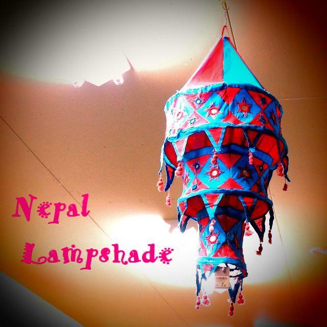ネパール ランプシェード