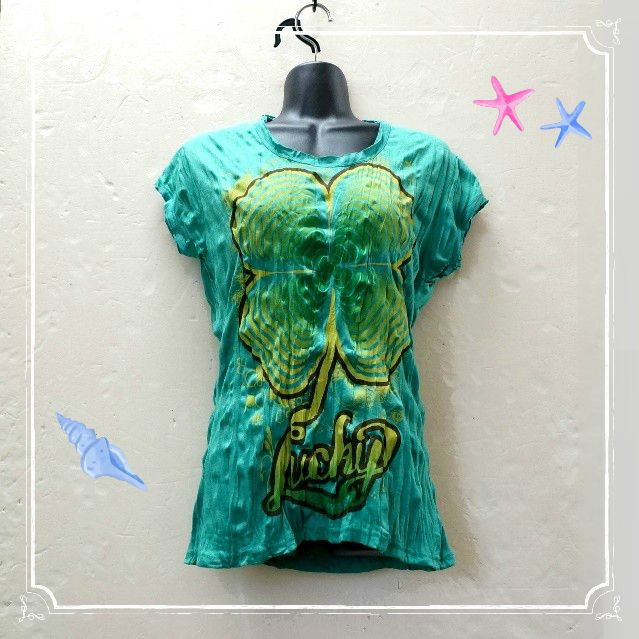 クリンクルTシャツ/レディース フレンチスリーブTシャツ