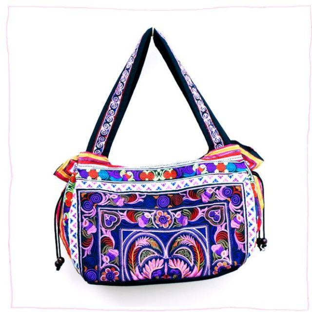 モン族の刺繍バッグ/エスニックファッション