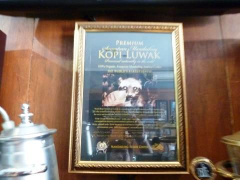 バリ島買い付け/Kopi Luwak