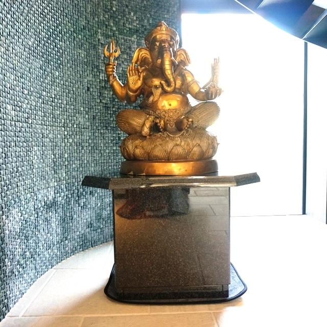 ガネーシャ神像