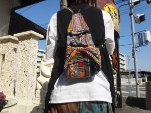 ネパールからバッグ、ポーチ