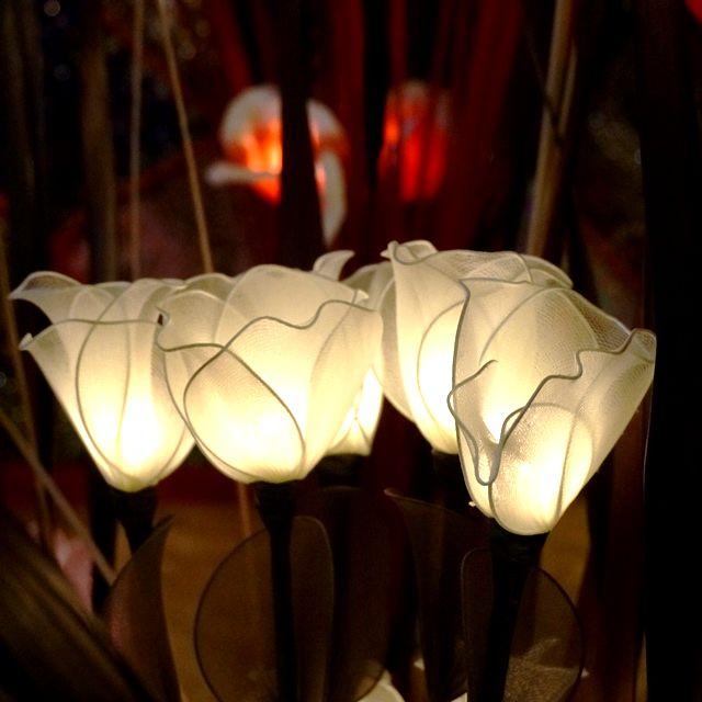 フラワーランプ/間接照明