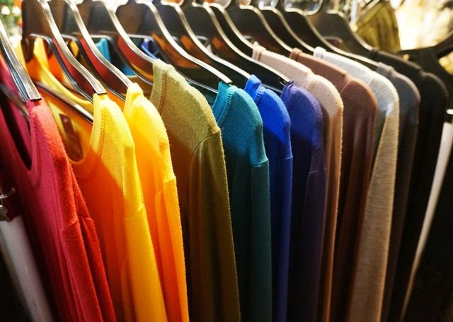 スパンデックス長袖Tシャツ/エスニックファッション