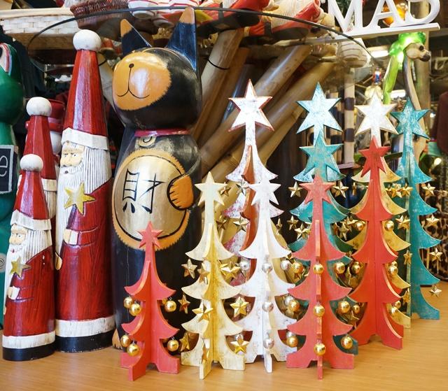 アジアン雑貨屋さんのクリスマス