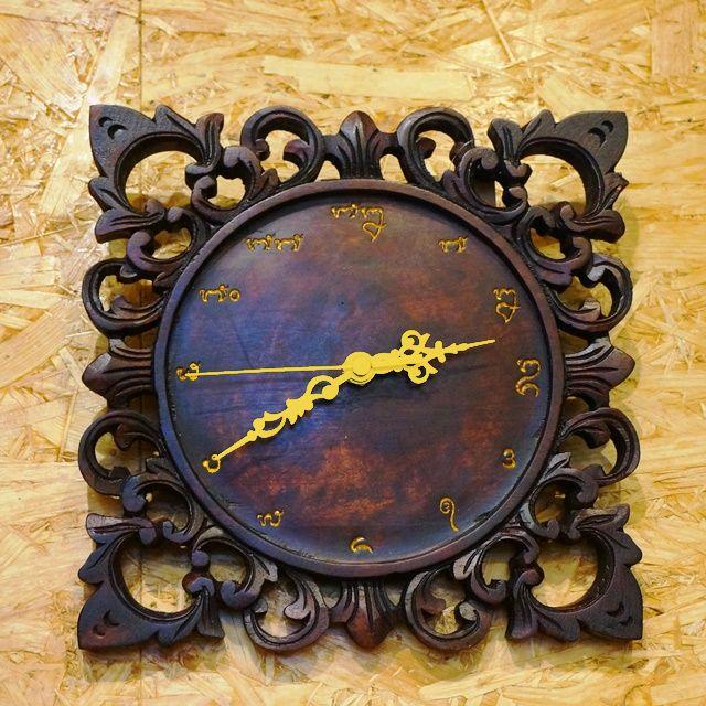 壁掛け時計/アジアンインテリア雑貨