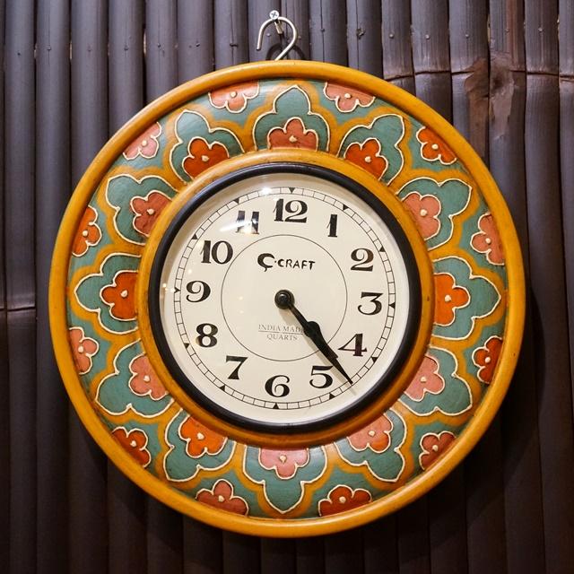 掛け時計/アジアン雑貨