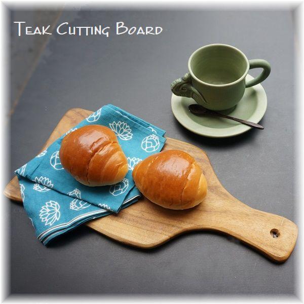 チークのカッティングボード・まな板/アジアンキッチン雑貨
