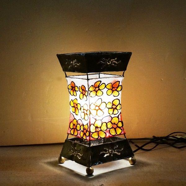 ステンドグラス風ランプ/間接照明/アジアンインテリア