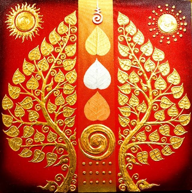 生命の樹 ゴールド/インテリアアート