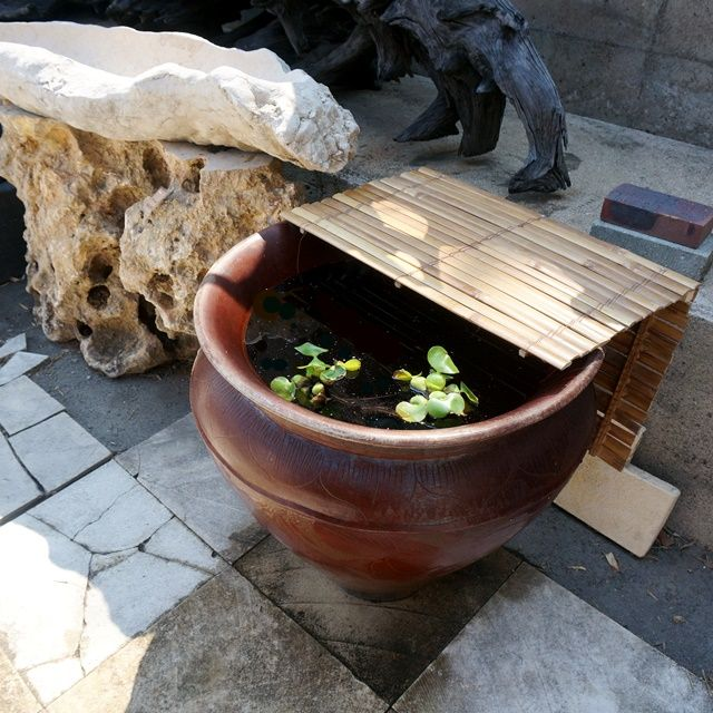 バリの壺/ロンボク島素焼き