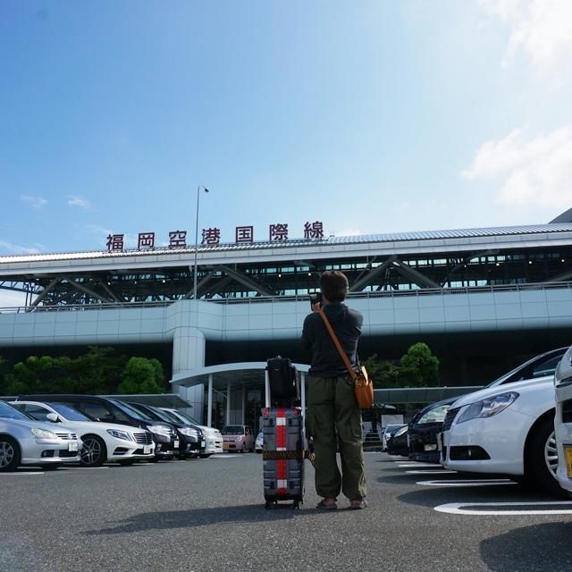 店長、タイの仕入れに出発! 福岡空港あれこれ