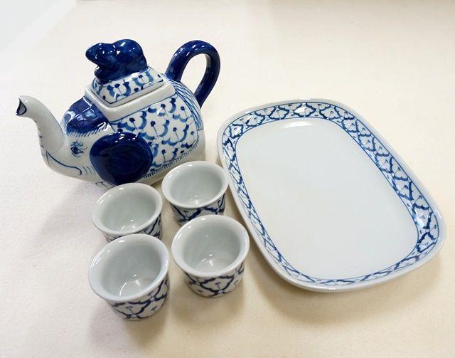染めつけ/ブルー&ホワイト/アジアンキッチン雑貨