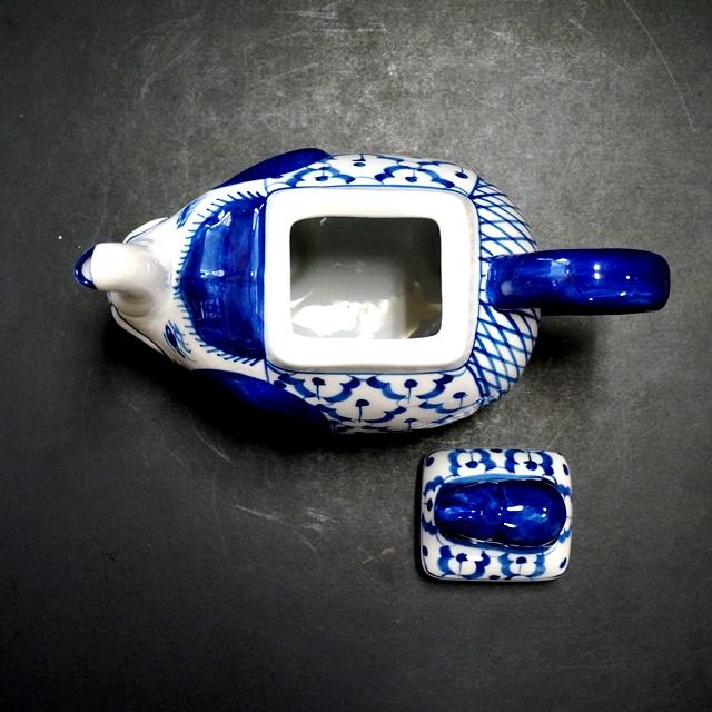ブルー&ホワイト/染めつけ/アジアンキッチン雑貨