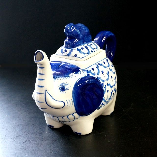 ブルー&ホワイト/染めつけ食器/タイ食器