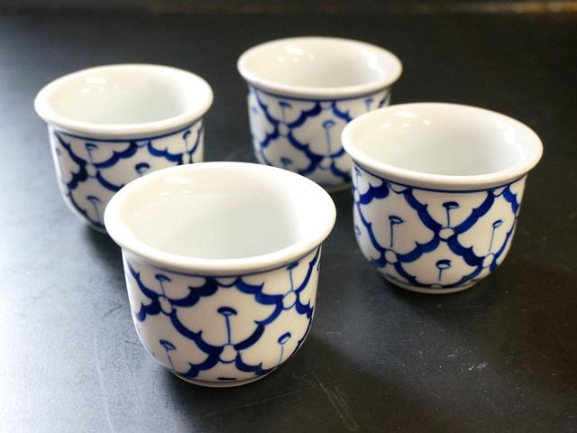ブルー&ホワイト/染めつけ/タイ食器