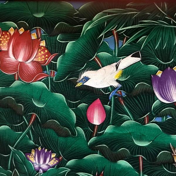 バリスターリング/ジャラックバリ ブンゴセカンスタイルのバリの絵