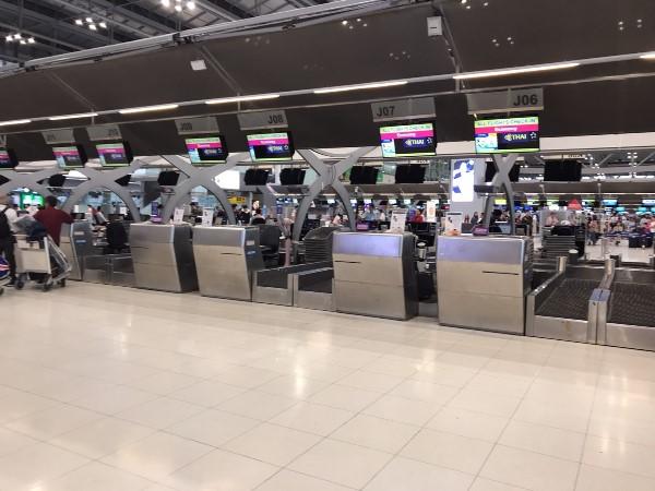 タイ スワンナプーム国際空港