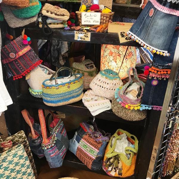 手編みバッグ/エスニックファッション