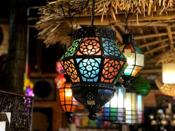 モロッコランプ/ステンドグラス風ランプ
