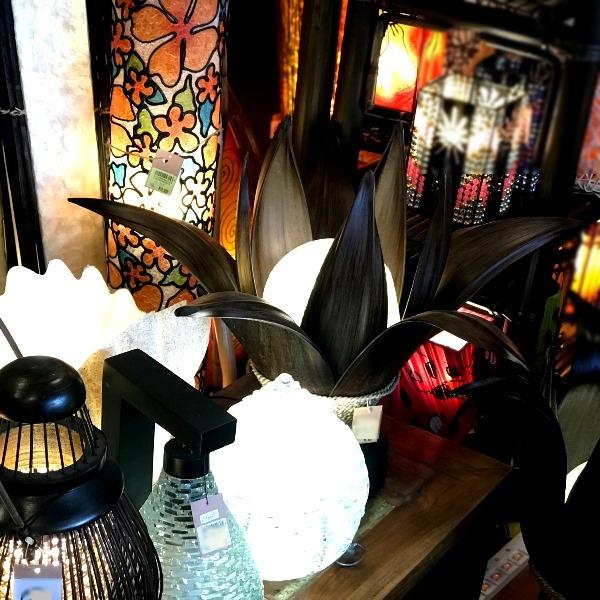 椰子のランプ