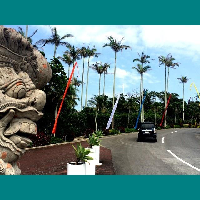 バリ島のぼり旗/ウンブルウンブル/納品