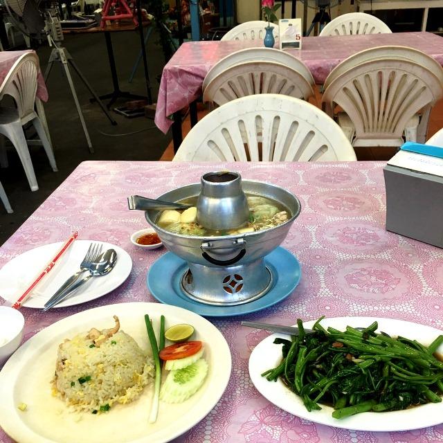 タイ仕入れ/2016.5/プラトゥナムのシーフードレストラン