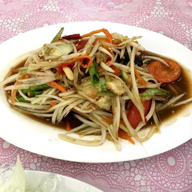 タイ仕入れ/2016.5/プラトゥーナムのシーフードレストラン