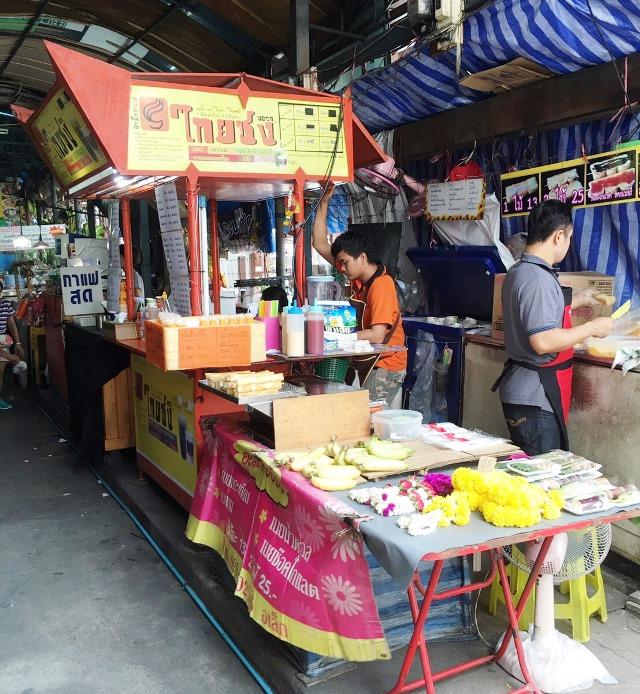 タイ仕入れ/水上バスでボーベー市場へ/2016.8