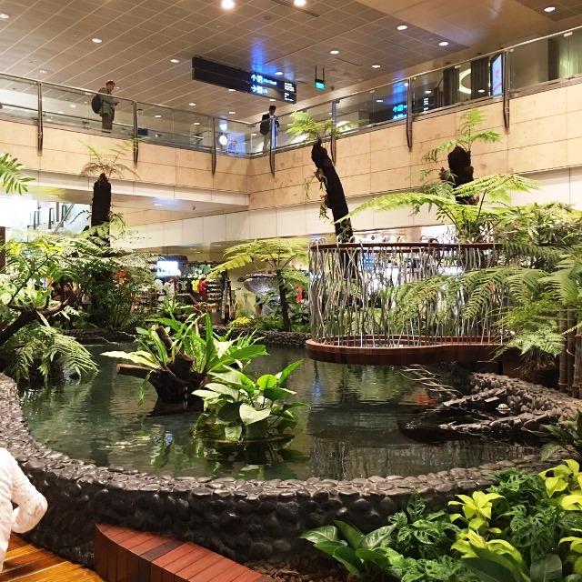 バリ島仕入れ/シンガポール チャンギ空港でトランジット/2016.11