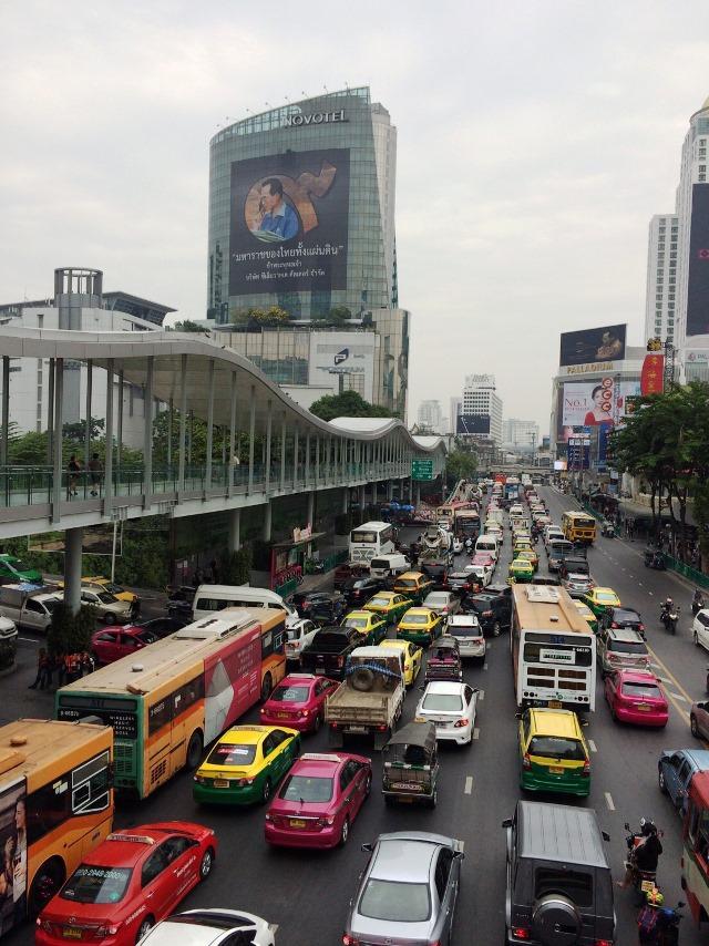 バンコク渋滞