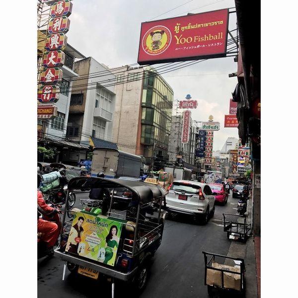 アジアン雑貨の仕入れにバンコクへ/ヤワラート/2017.5