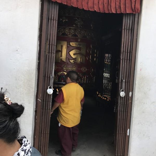 ネパール マニ車