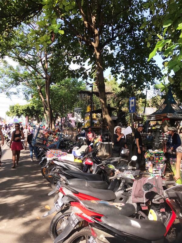スカワティ市場/バリ島