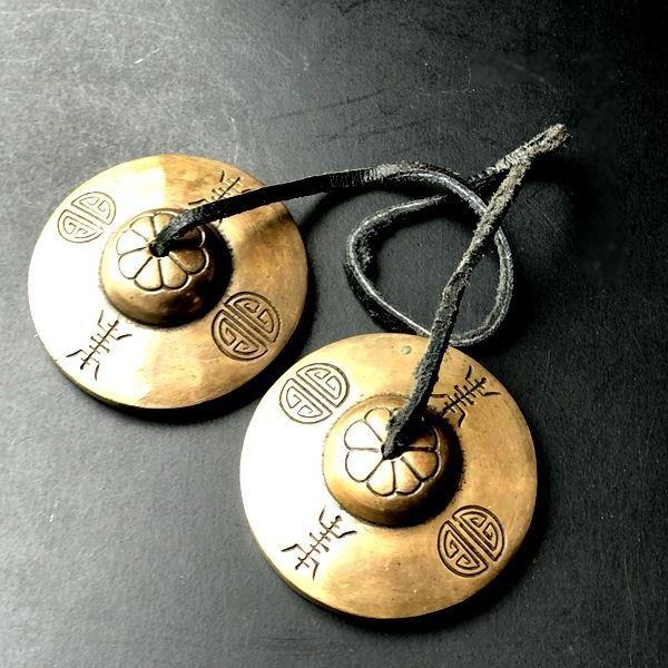 ティンシャ入荷! セブンメタルのティンシャ/7メタル チベット密教法具