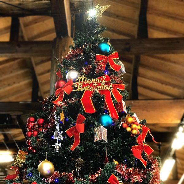 来月はクリスマス!