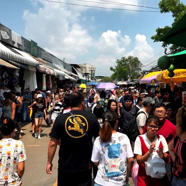 タイ仕入れ/ウィークエンドマーケット 2018.3