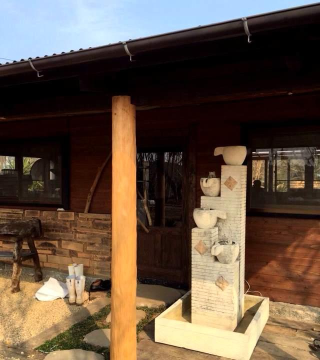 糸島ニューオープンのドッグカフェに納品
