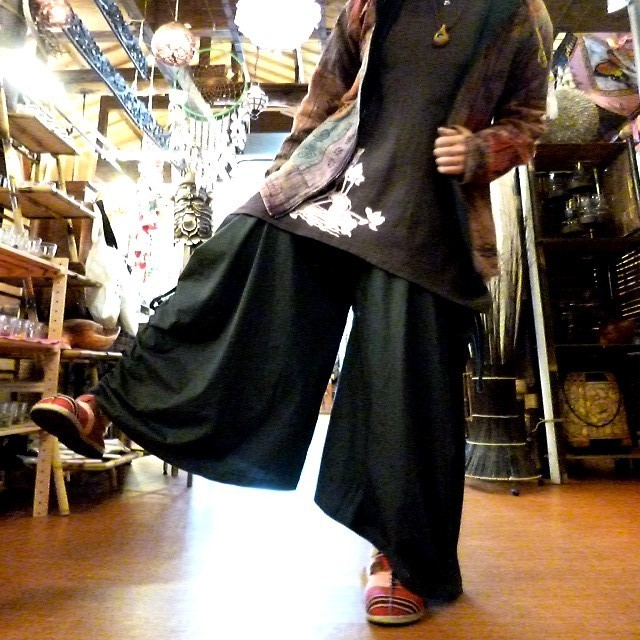 4WAYパンツスカート