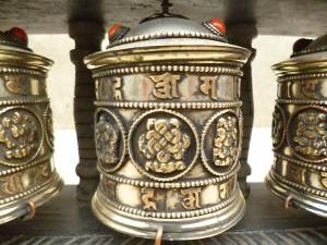 マニ車/チベット密教神具/ネパール雑貨