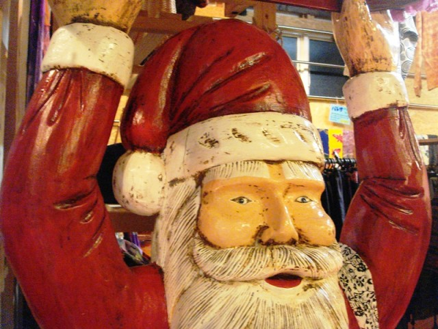 サンタクロース/バリ クリスマス雑貨